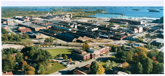 Sandvik AB plants in Sandviken, Sweden