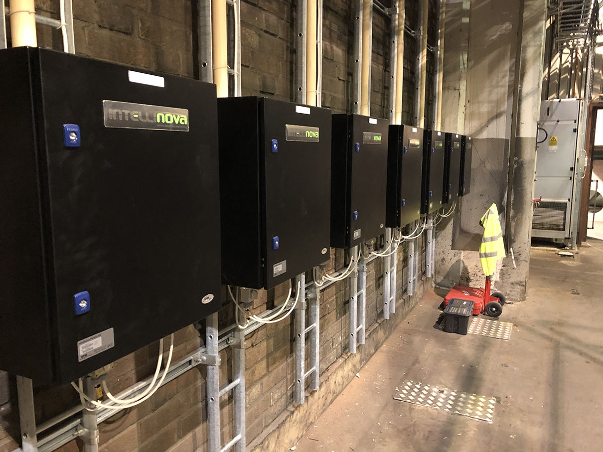 Intellinova installation at Hallsta paper mill